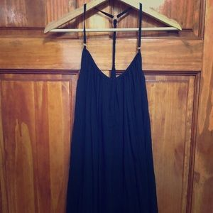 Strappy flowy LBD dress